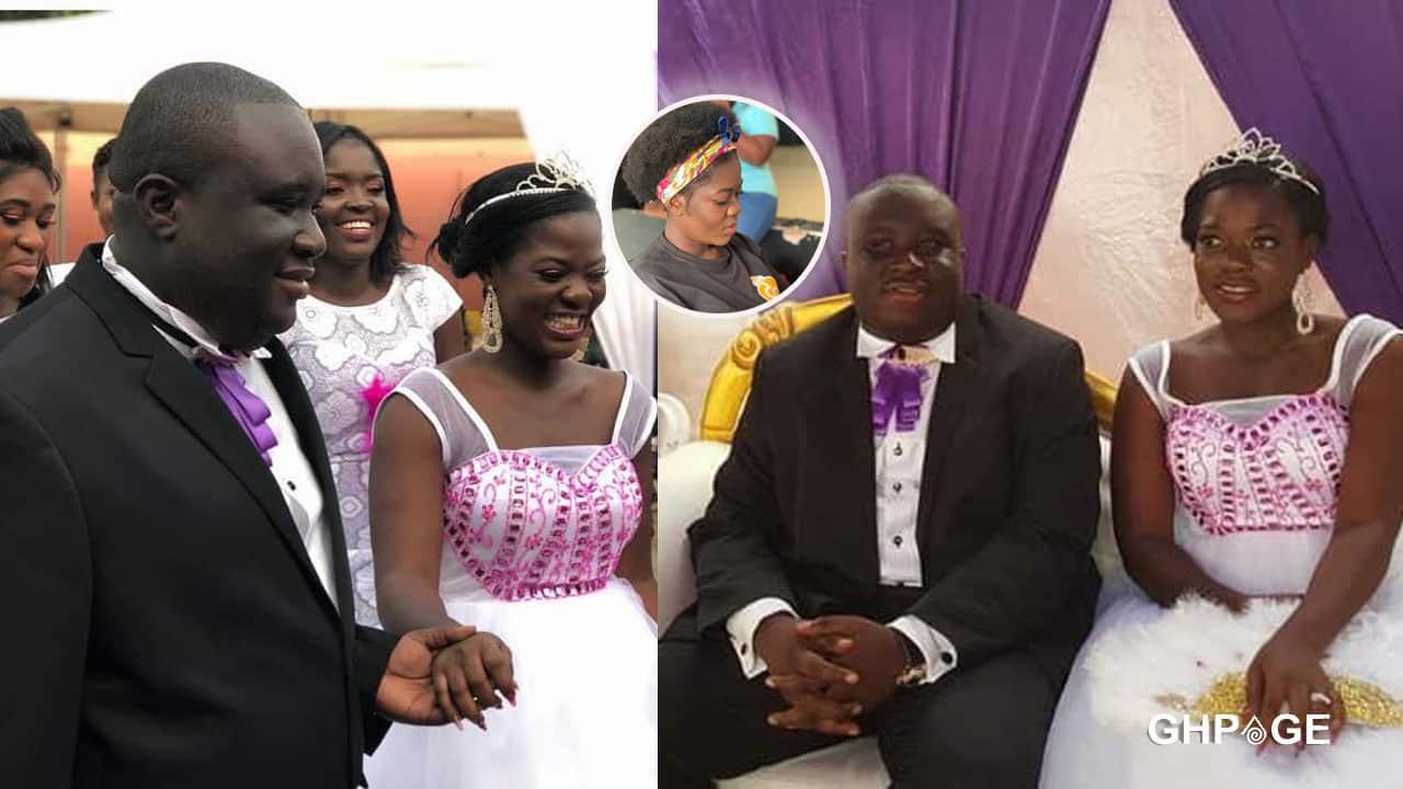 Tiktok star, Asantewaa and her husband, Jeffrey Obiri Boahen