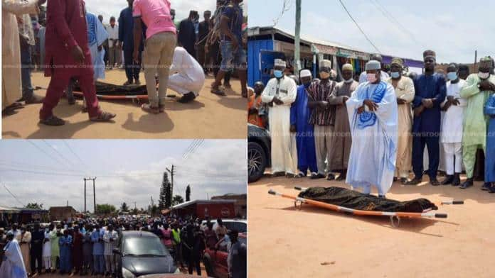 Burial Service For Ishmael