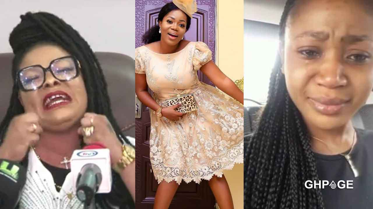 Mzbel shades Akuapem Poloo and Nana Agradaa in latest post
