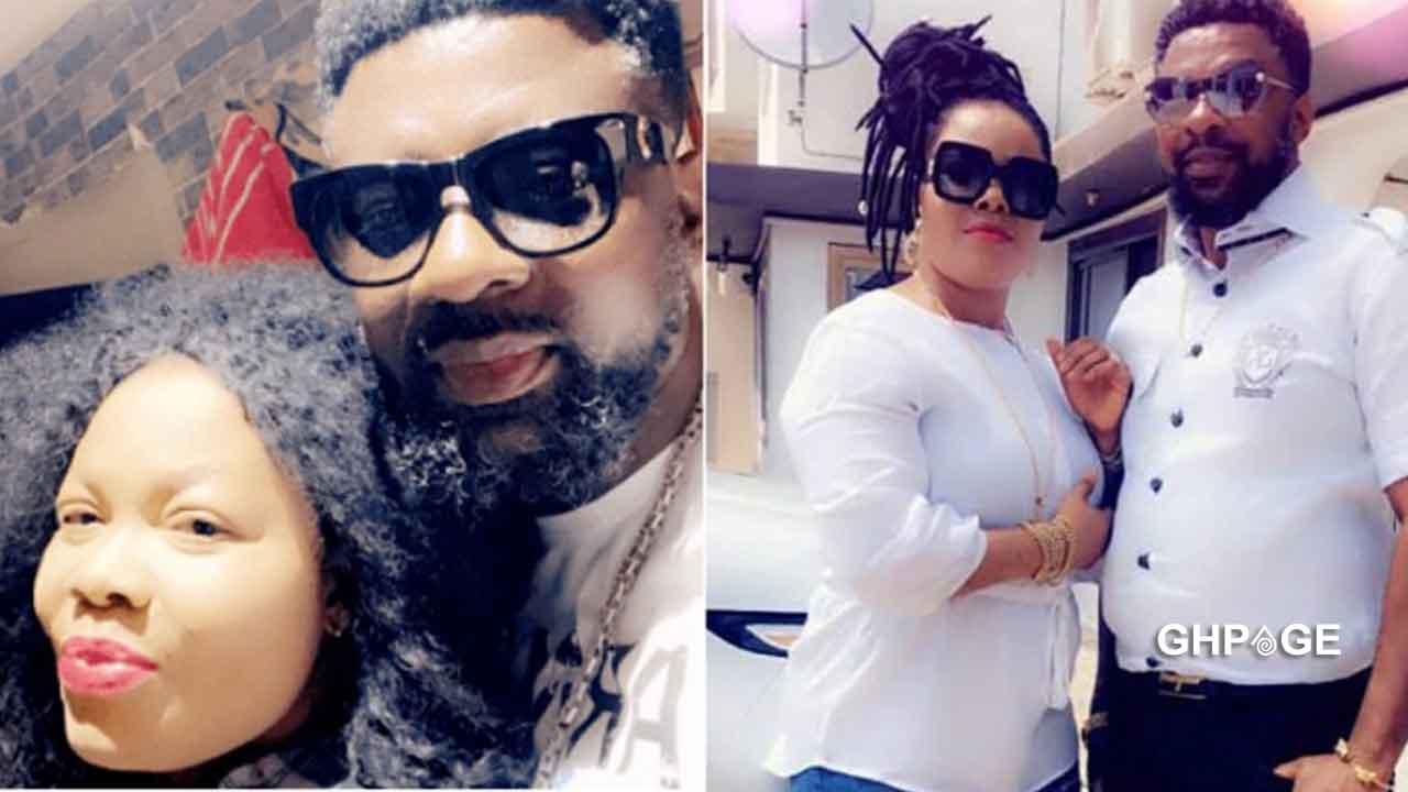 Nana Agradaa and husband