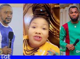 Nana Agradaa insults Rev. Bempah Obofour