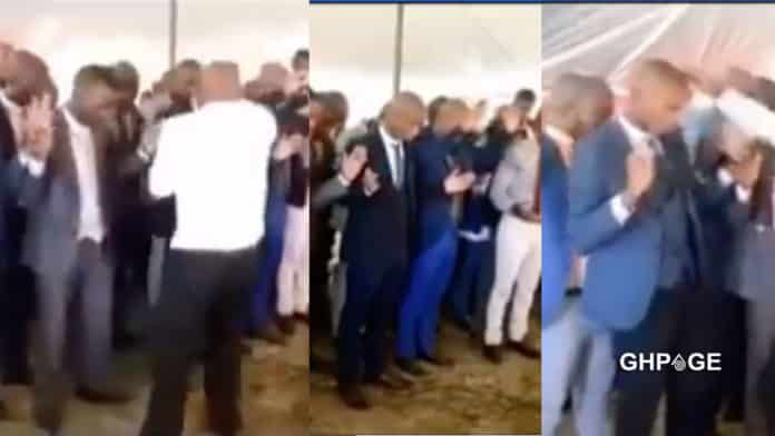 Pastor gives church member heavy slaps in the name of deliverance