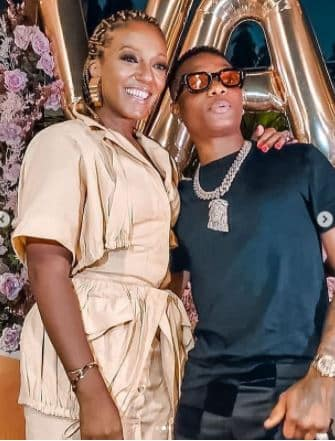 Valerie and Wizkid
