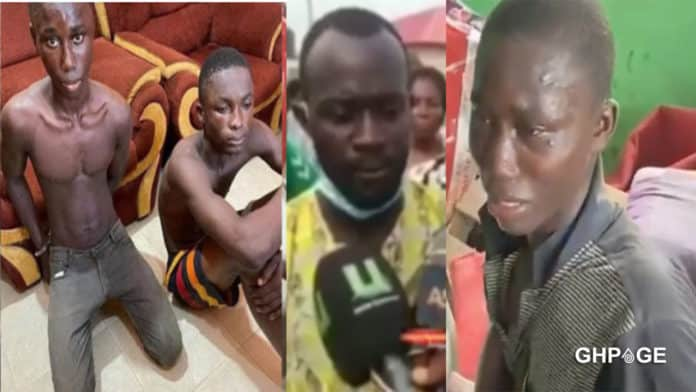 Father of one of the teen boys who k!lled a child for money in Kasoa speaks (video) 2