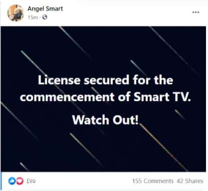 """""""I have secured a License to start my own TV station""""- Captain smart 2"""