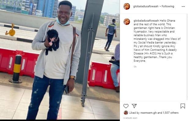 Identity of the man who caused Adu Safowaa's arrest revealed (Photos)
