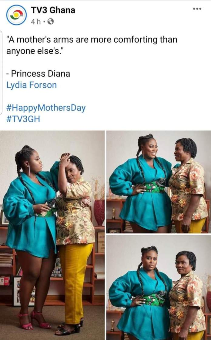 Lydia Forson curses netizen for insulting her mother (screenshots) 2
