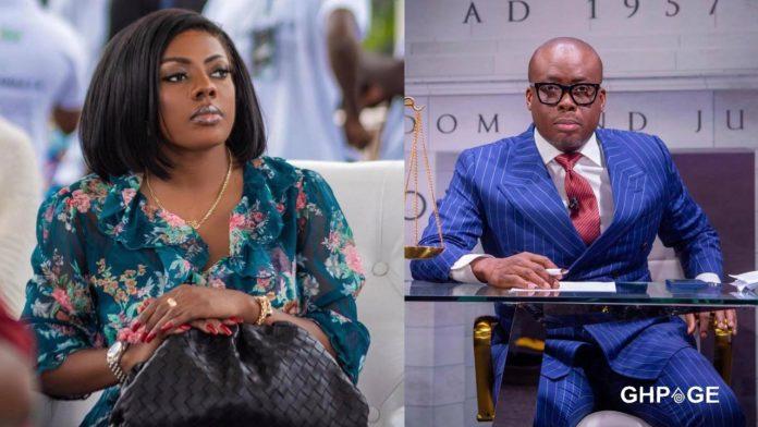 Nana Aba Anamoah and Paul Adom Otchere