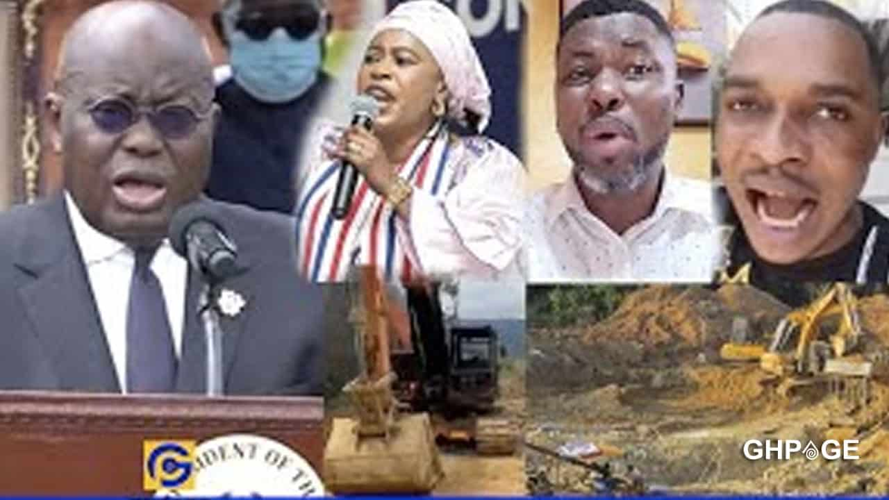 Kwame A Plus fires Nana Addo for burning excavators