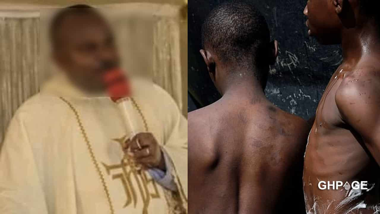 Rev father allegedly tortures a 14-years boy for lying