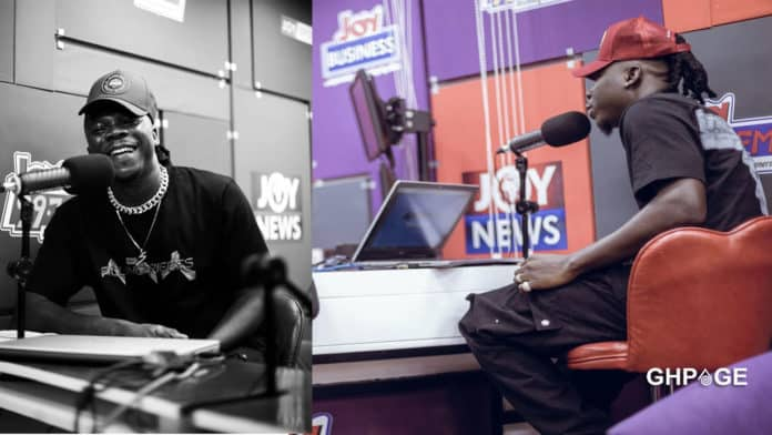 What we show off are just packaging - Stonebwoy