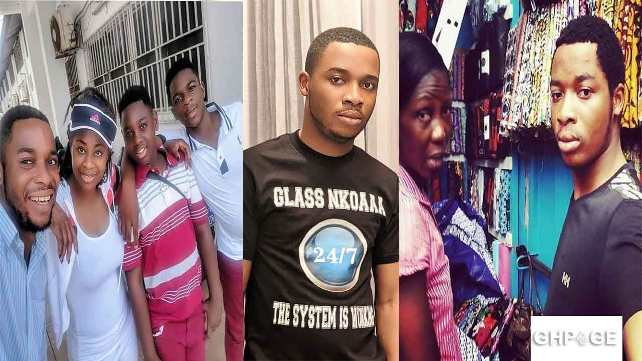 Twene Jonas and family