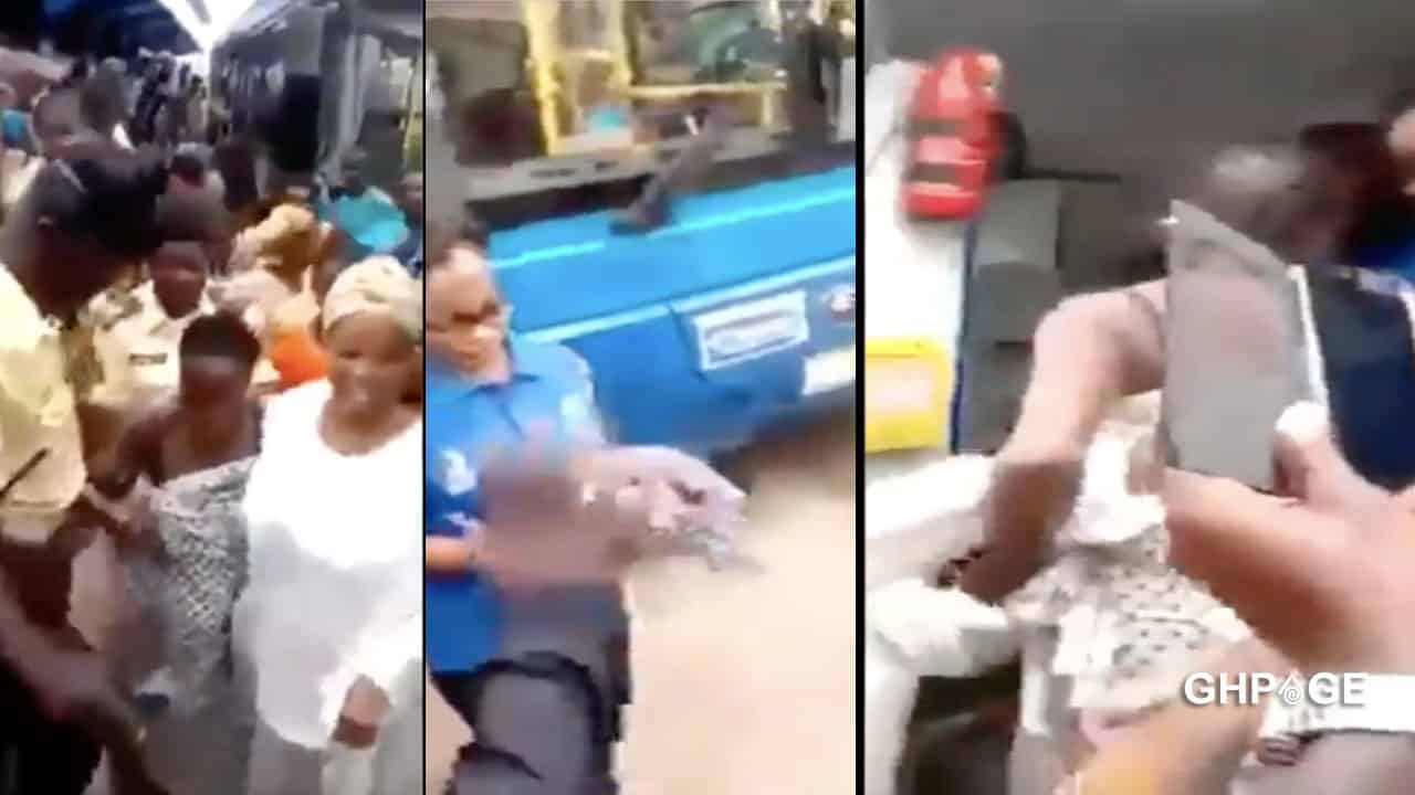 Video of a lady giving birth in a commercial bus goes viral