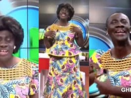 akorbeto dresses like a woman ahead of mother's day