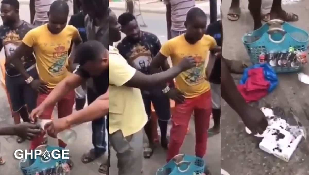 man arrest selling acidic alcohol-2