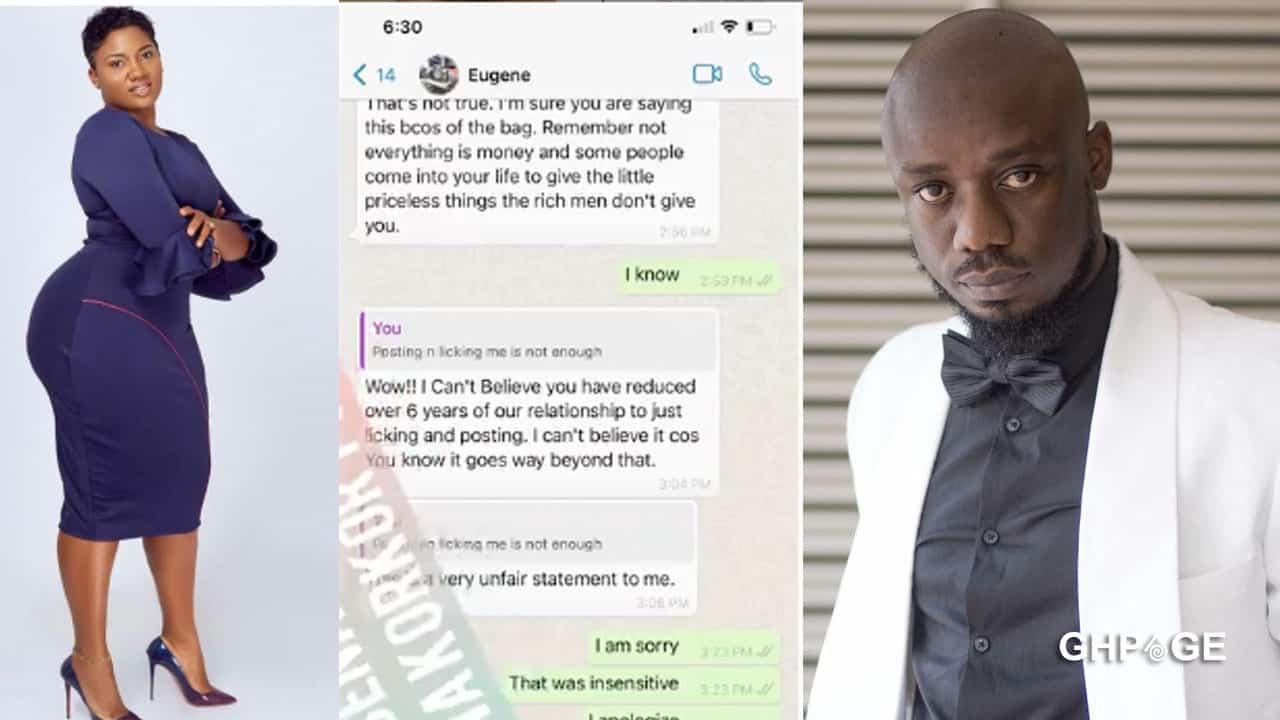 Abena Korkor's chat are old ones - Nkonkonsa