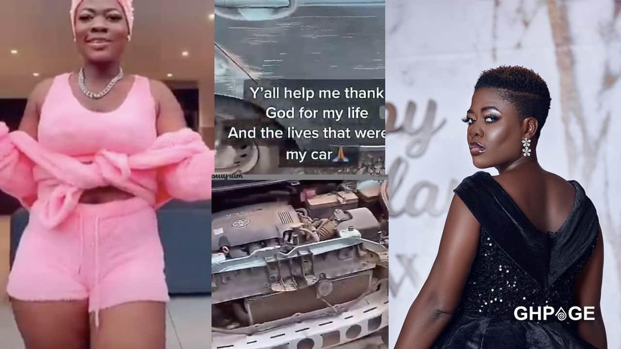 TikTok star Asantewaa involved in an accident