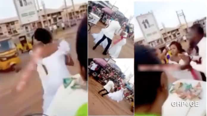 Bride leaves her groom in shock few minutes after saying 'I do'