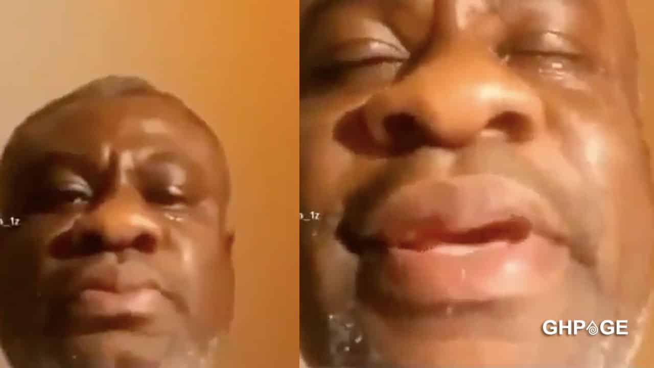 Sugar daddy gets emotional after his girlfriend dumped him