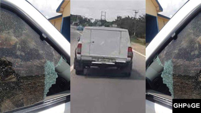 Bullion van robbery attack