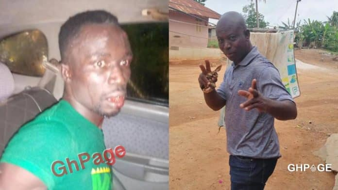 Alleged car snatcher, Yaw Cranking (L) - The Late Taxi Driver (R)
