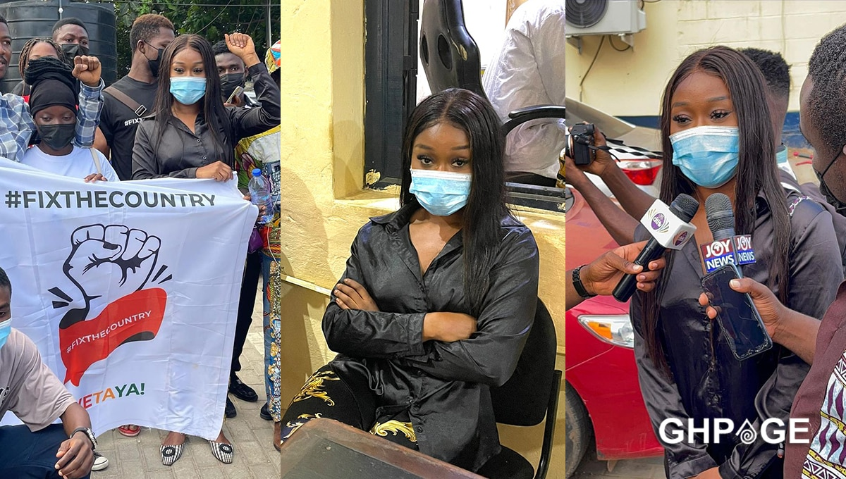 Efia Odo freed fixthecountry
