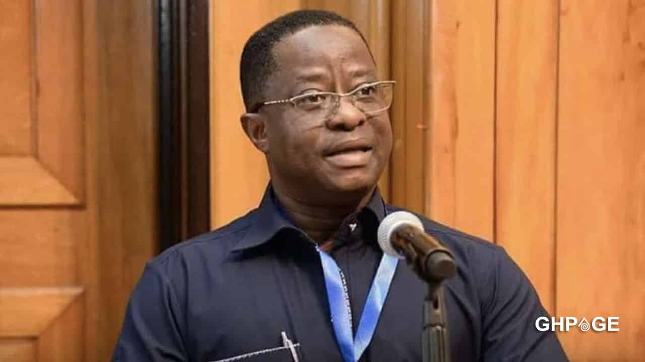 Hon. Peter Amewu allegedly captured in a deadly Anas exposé