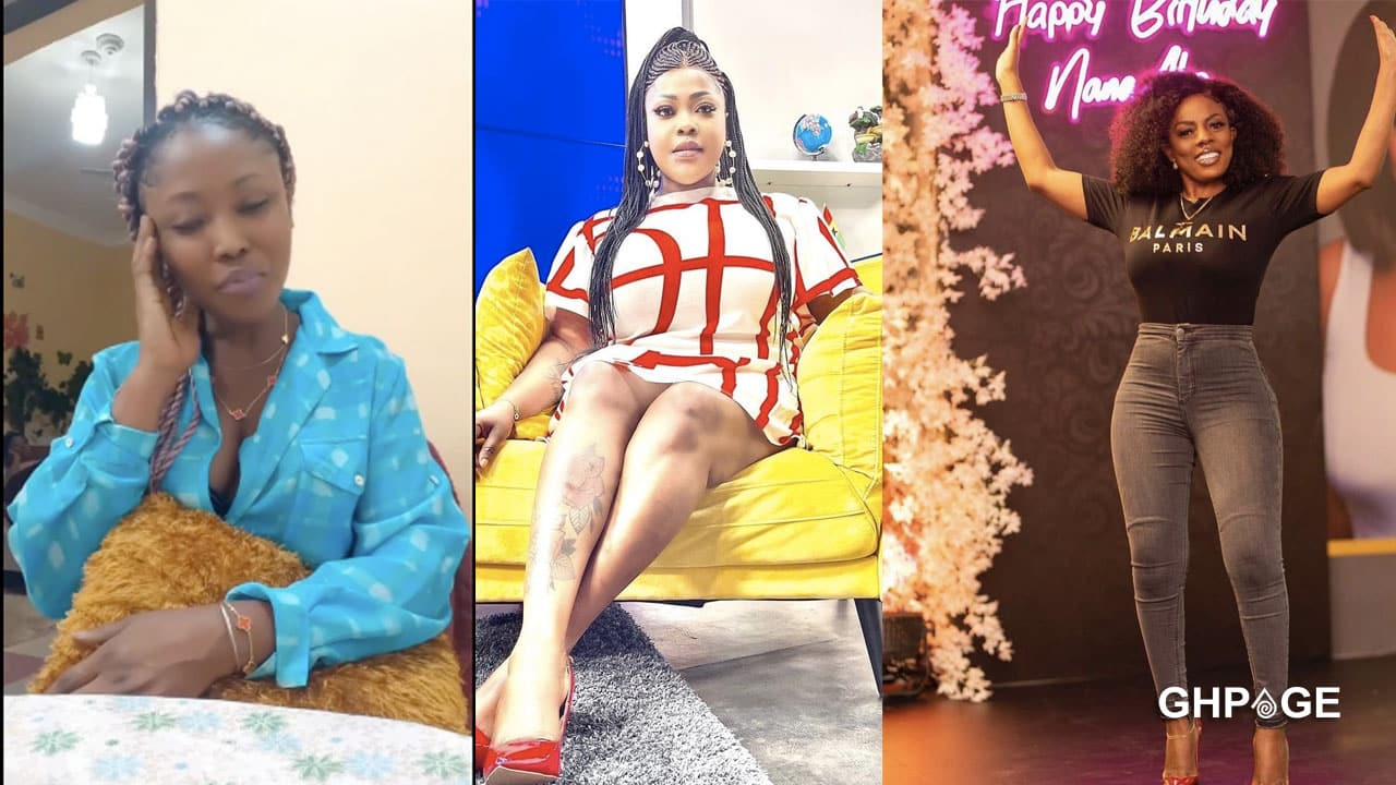 Actress accused of stealing Nana Aba Anamoah's scented candles speaks