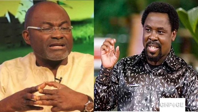 Kennedy Agyapong and T B Joshua