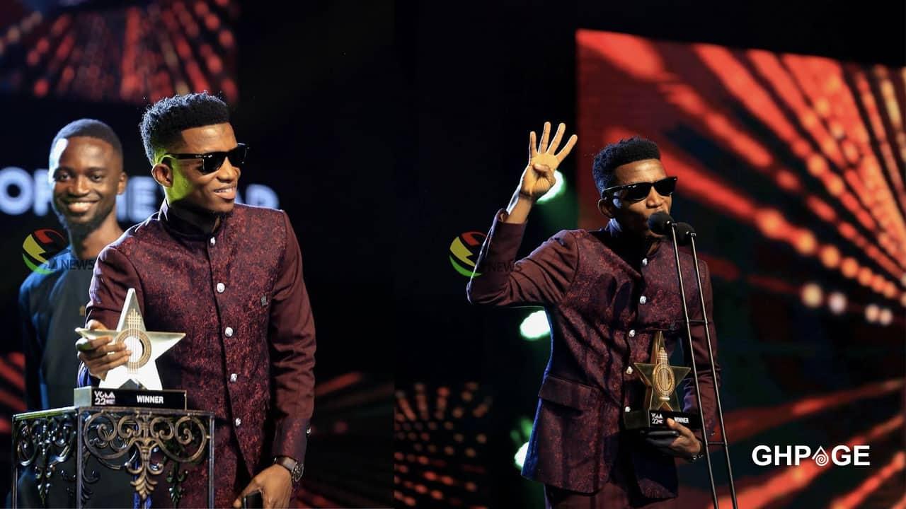 VGMA 22: Kofi Kinaata wins songwriter of the Year
