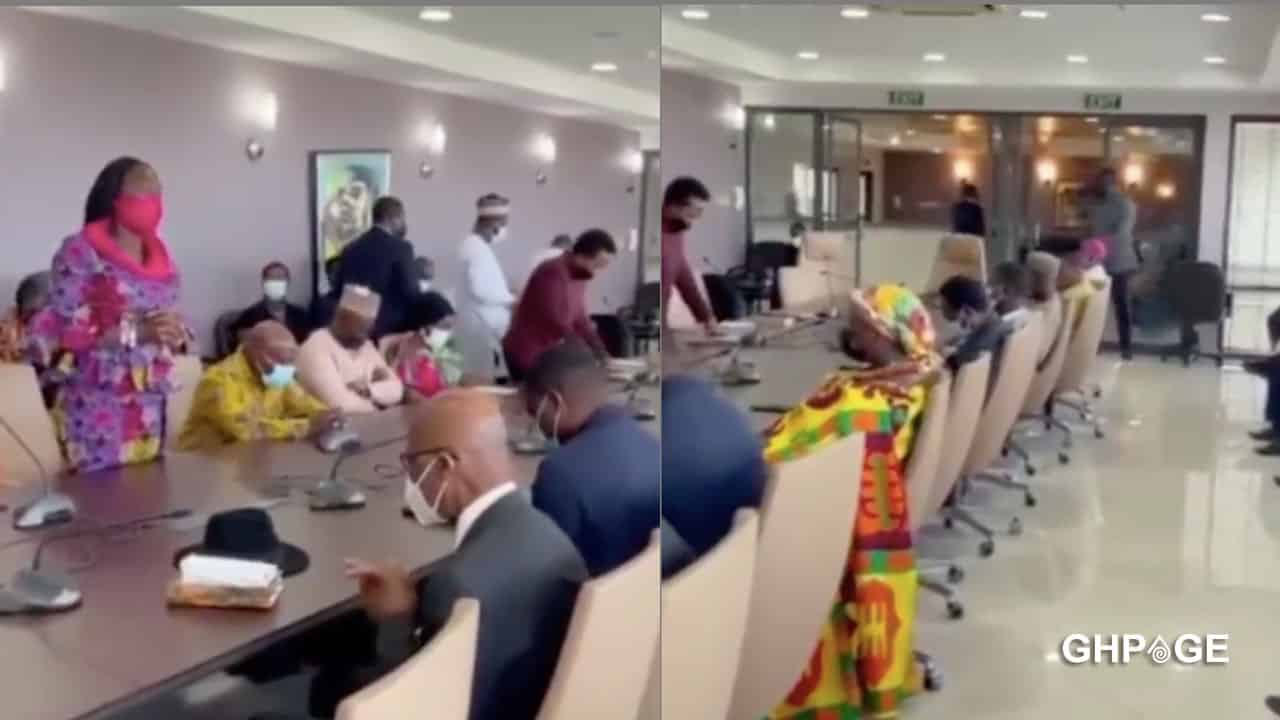 How social media reacted after video of MPs praying surfaced