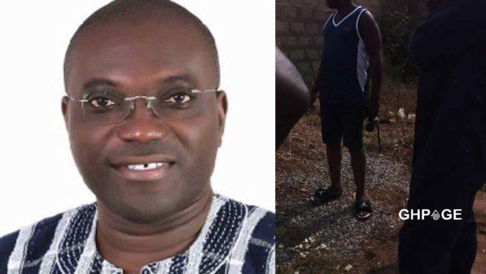 Techiman South MP, Hon. Martin Adjei Mensah-Korsah