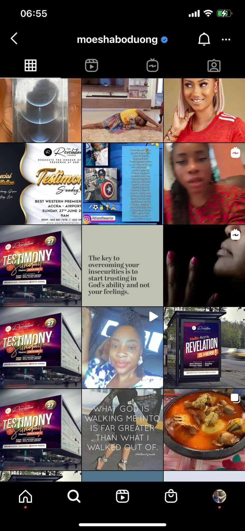 Moesha Boduong deletes all pono videos and photos on Instagram