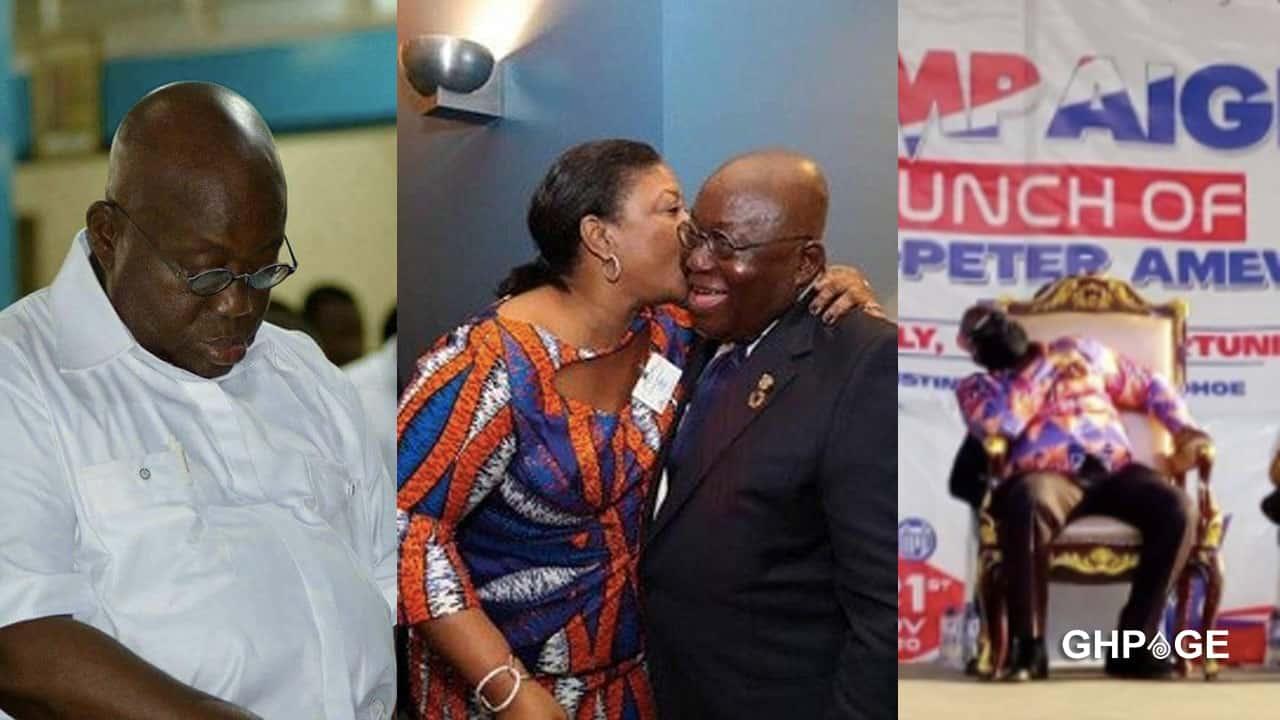 He has been having sleepless night - Rebecca Akufo Addo