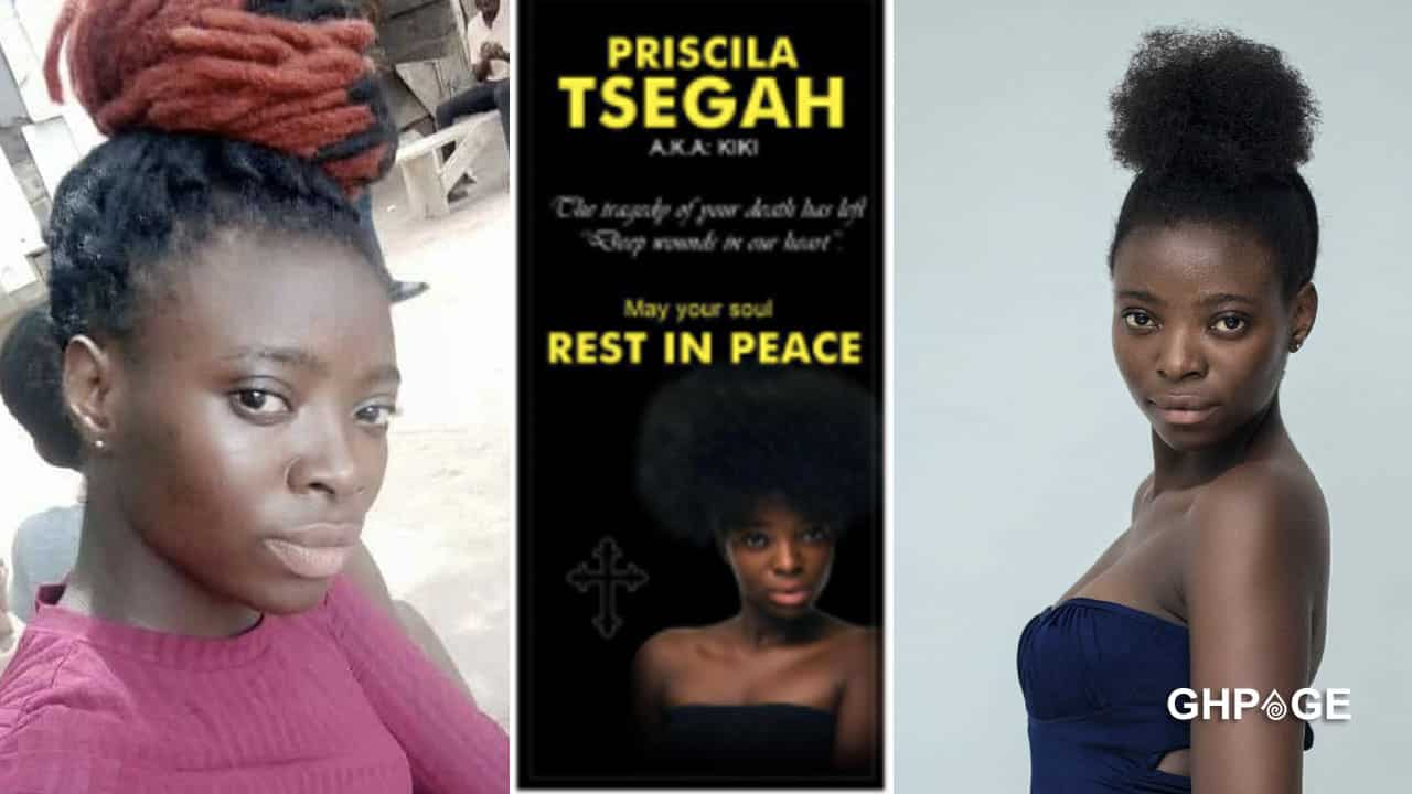 Priscilla Tsegah wasn't a lesbian - Family