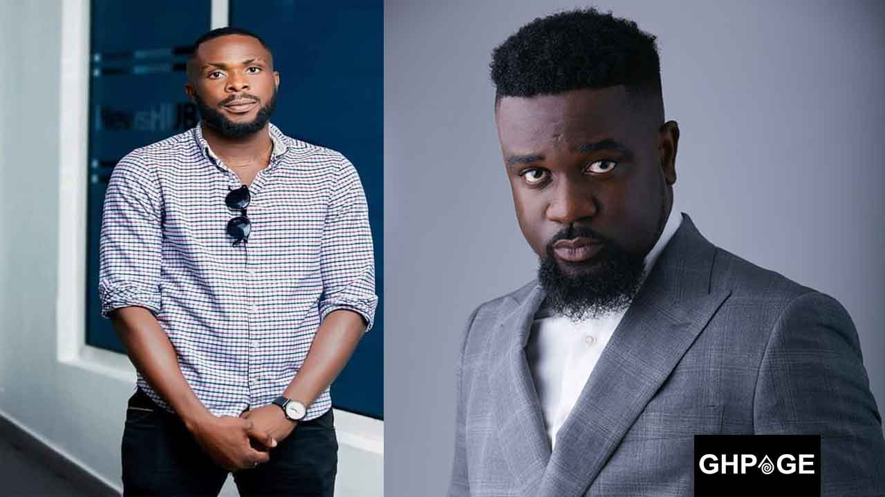 Ricky Tenneson and Sarkodie