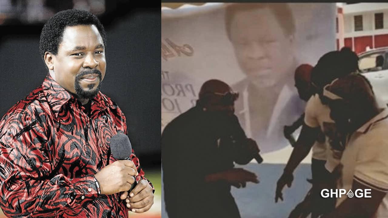 Ayitey Powers organizes funeral for T.B Joshua in Ghana