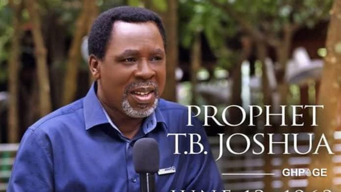 TB Joshua dies at age 57