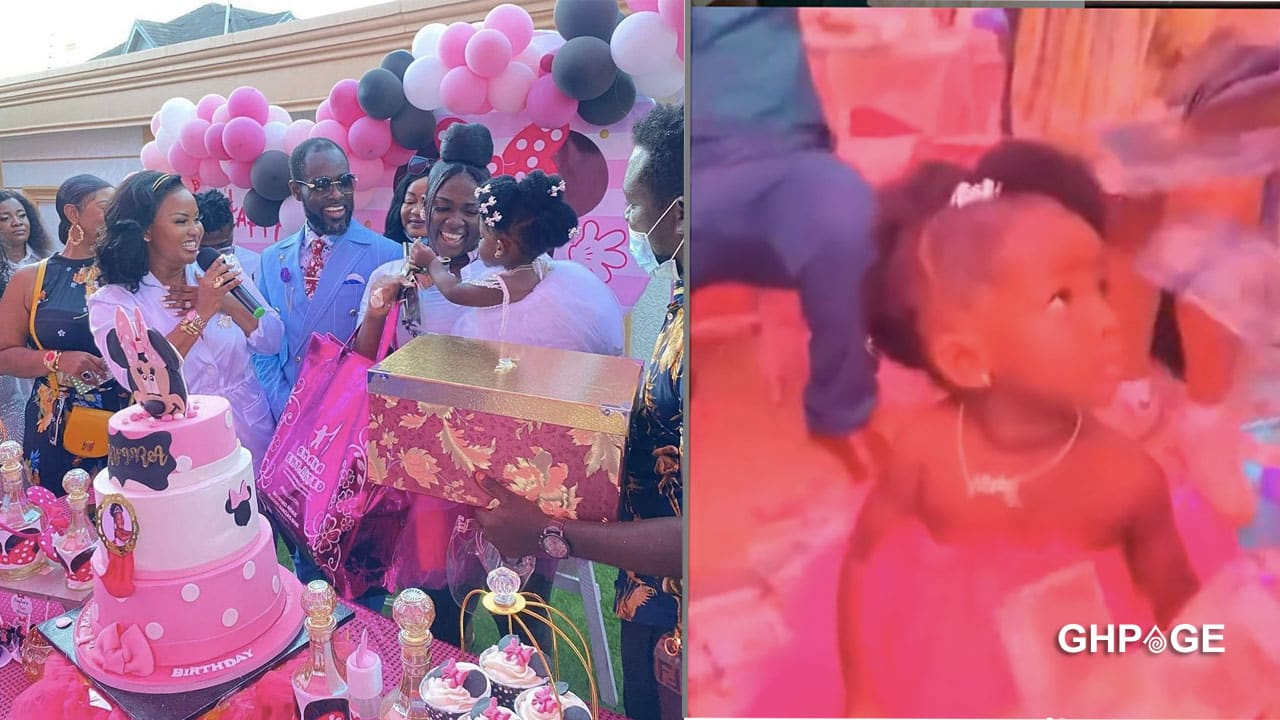 Tracey Boakye celebrates daughter's 1year birthday in her luxurious mansion