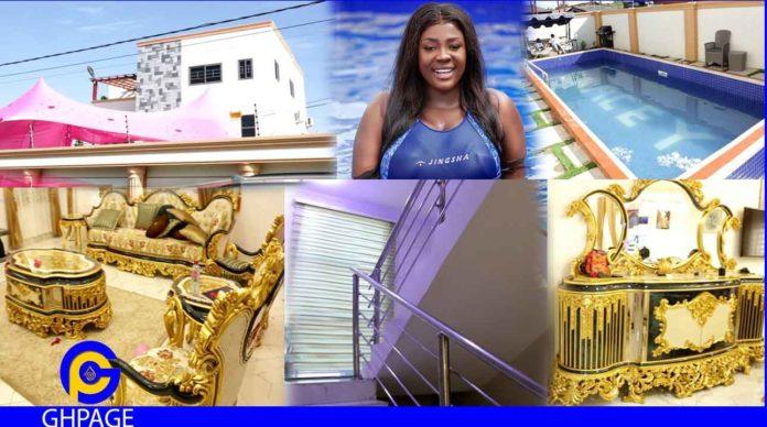 Tracey Boakye's new house