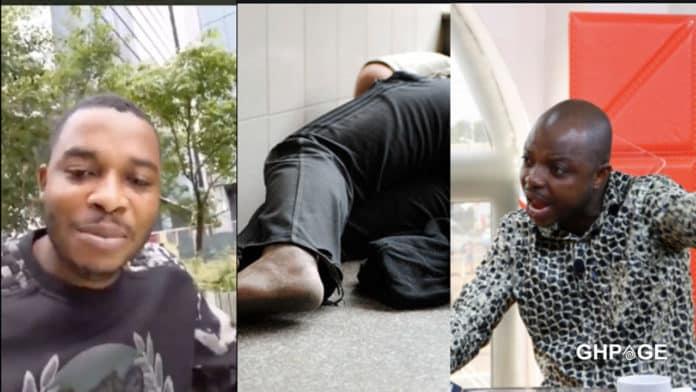 Twene Jonas is homeless and sleeps at train stations - Abronye DC