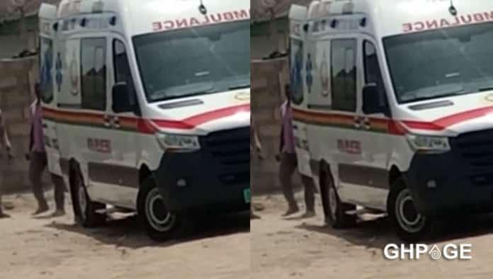 ambulance cement vehicle