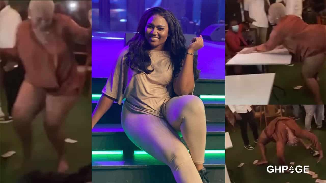 Abena Korkor turns stripper