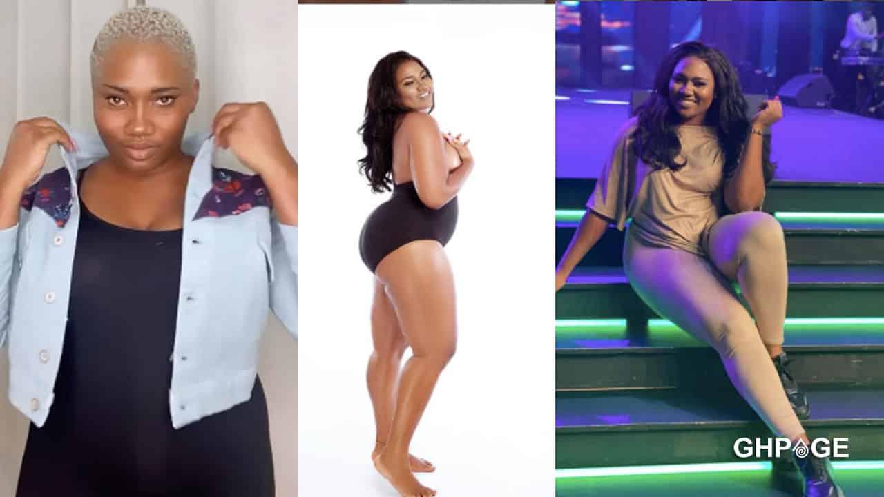 Abena Korkor goes braless to advise plus size ladies