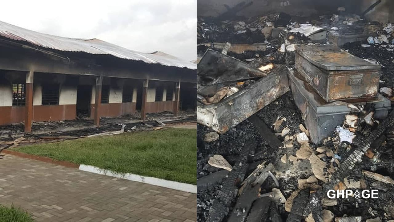 Accra Aca fire: Student burnt down the dormitory