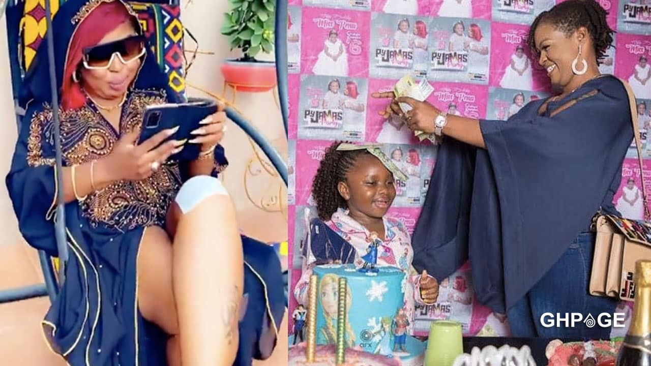You begged and gave me GHC2000 for Pena's birthday -Afia Schwar