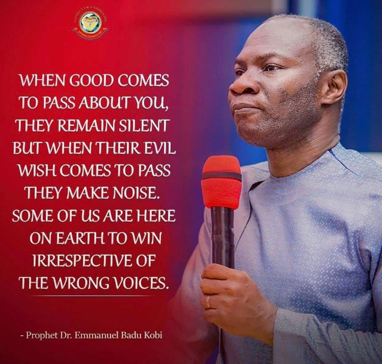 Badu Kobi reacts to the failed football prophecies