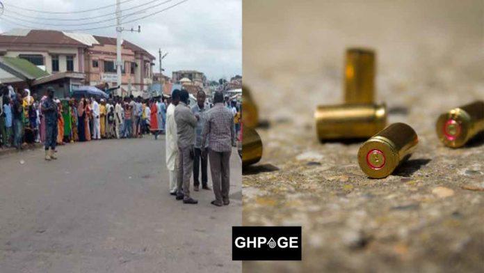 Boy killed by stray bullet