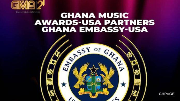 Ghana Music Awards USA partners Ghana Embassy USA
