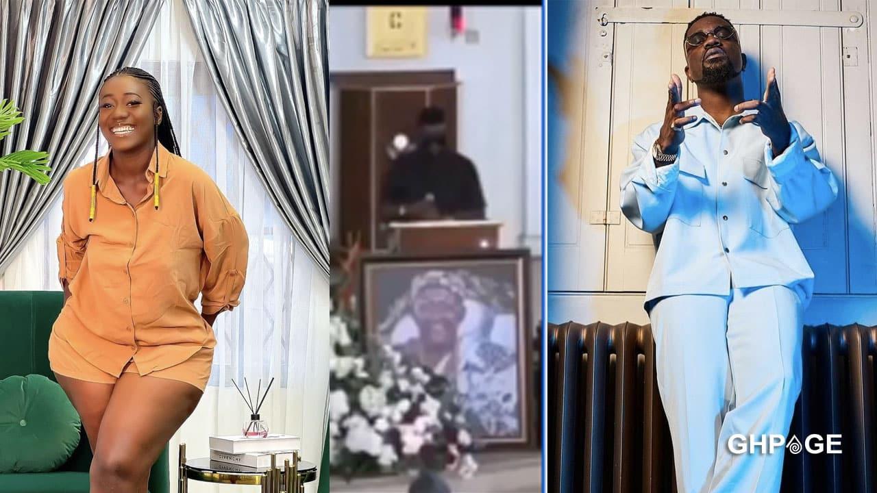 Hajia Bintu 'attacks' Sarkodie over his rap performance at Otchere Darko's father's burial service
